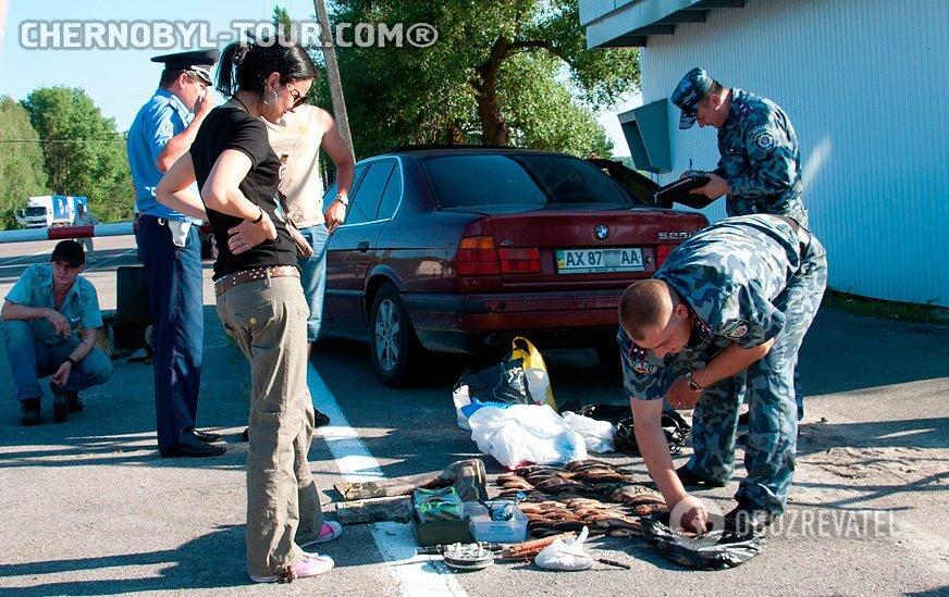 На виїзді з Чорнобиля затримали браконьєрів