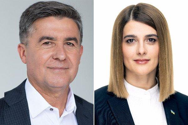 Микола Кучер і Лариса Білозір