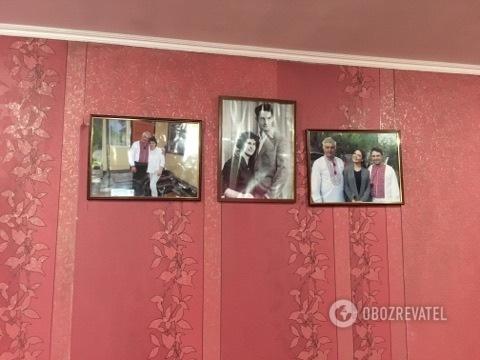 У будинку батьків Леоніда Струка