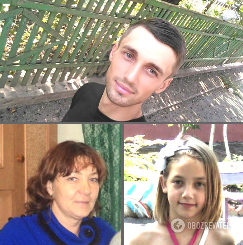 У ДТП загинули: 26-річний Максим Середа, 56-річна Ірина Єрмакова із 17-річною дочкою Христиною (на знімку дівчині 13 років). Також аварія забрала життя онучки Ірини – 10-річної Аліни