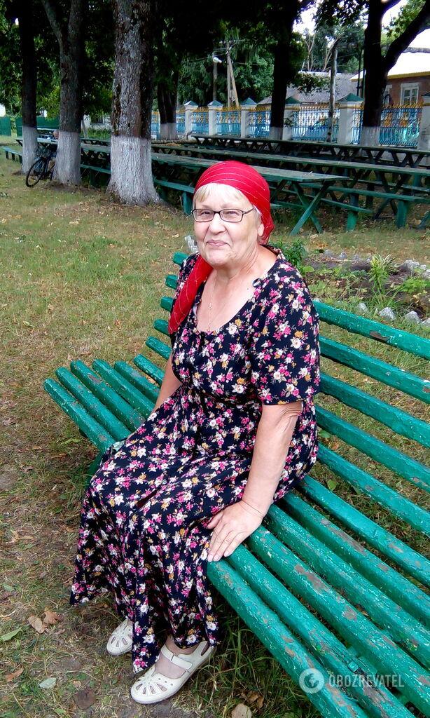 Пенсіонерка Надія покинути Чорнобиль не може, це її земля