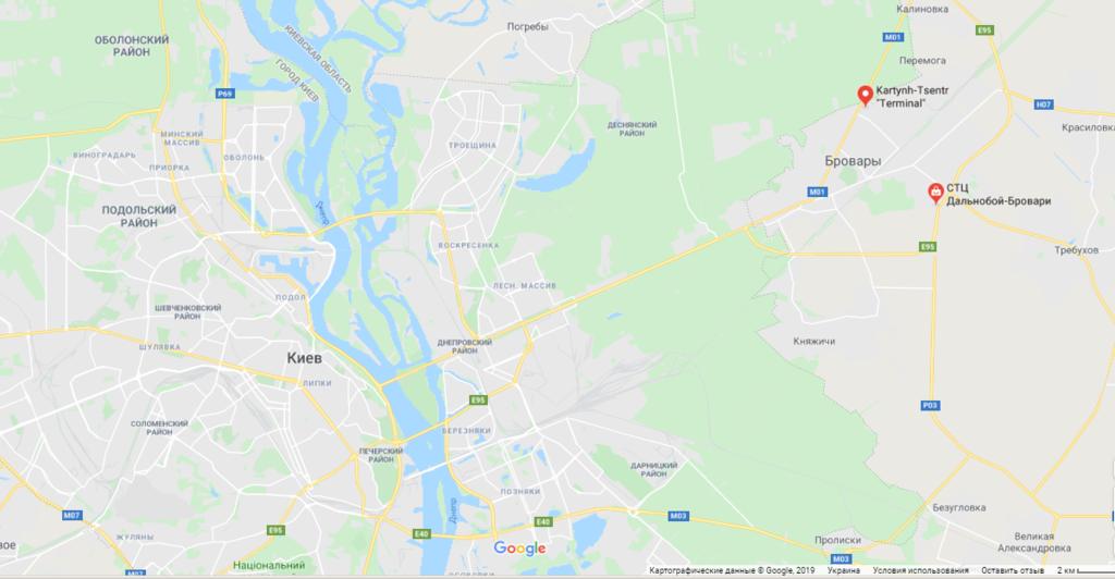 Траса Київ-Бровари
