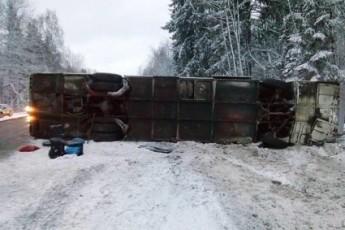 """Результат пошуку зображень за запитом """"Автобус із українцями потрапив у моторошну аварію в Росії"""""""