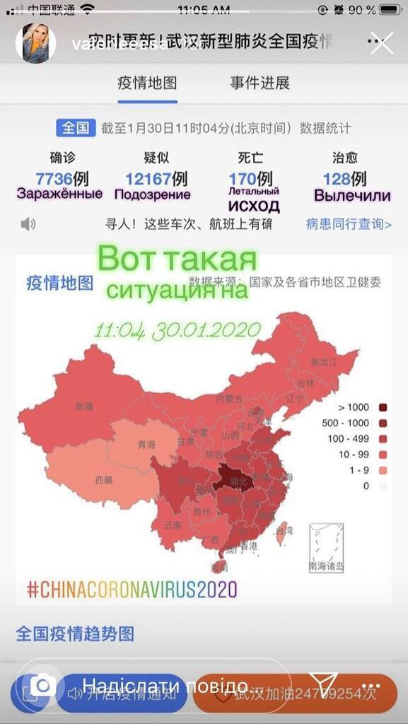 Ситуація в Китаї