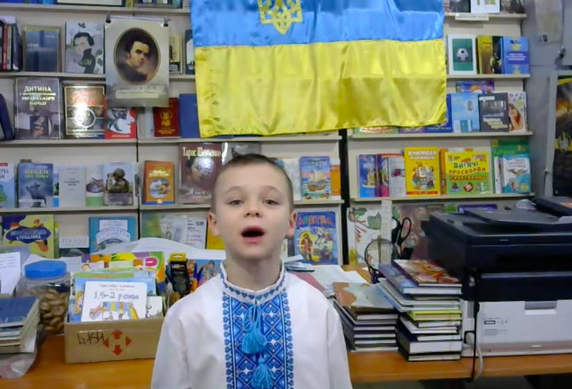 Привітання з Днем ЗСУ від хлопчика з Донбасу - відео - Інформаційне агентство Вголос/Vgolos: останні новини України, Львова
